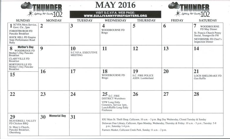 Event Calendar 2016 : Events calendar